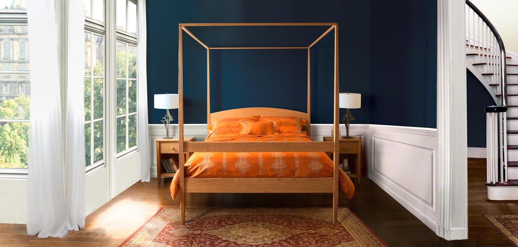 Best Solid Wood Beds Vermont Woods Studios With Pictures