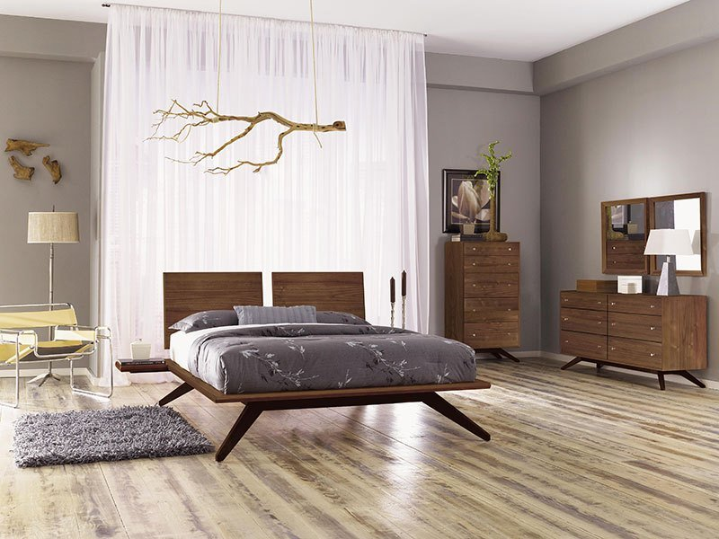 Best Astrid Bedroom Set In Walnut By Copeland Furniture With Pictures