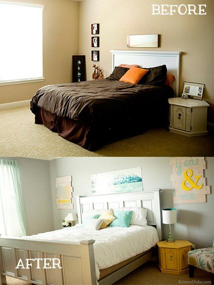 Best Small Bedroom Makeovers Decorating Your Small Space With Pictures