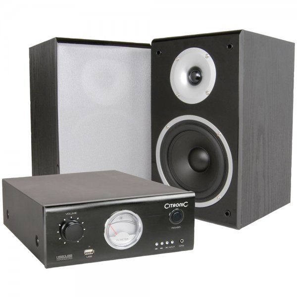 Best Citronic Citronic Bedroom Speaker Monitor Hs80 Usb Sound With Pictures