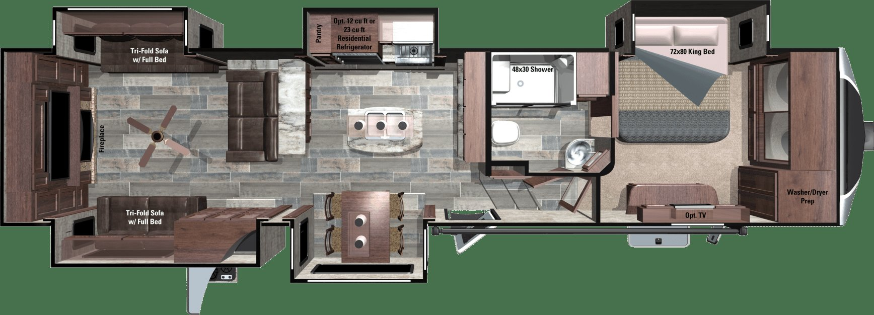 Best 2018 Open Range 3X Fifth Wheels By Highland Ridge Rv With Pictures