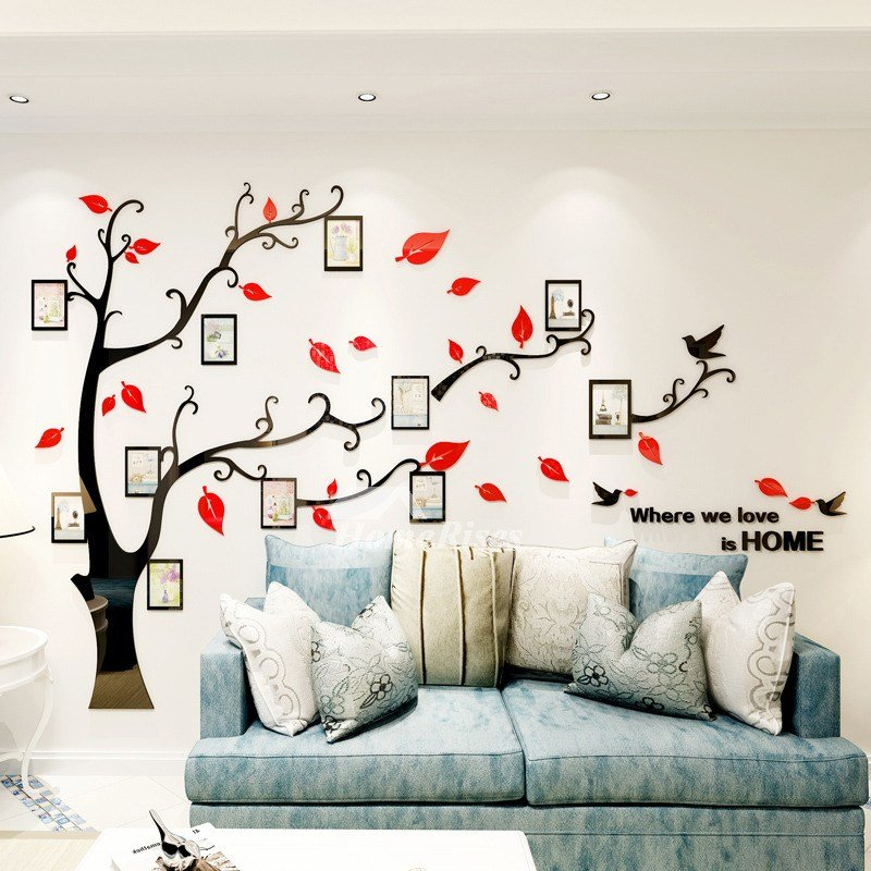 Best Removable Wall Decals For Bedroom Acrylic Tree Home Decor With Pictures