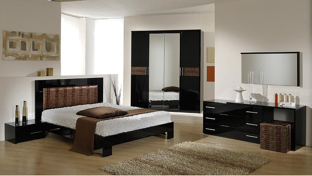 Best Vig Furniture Moon Italian Brown Modern Contemporary Queen Bedroom Collection With Pictures