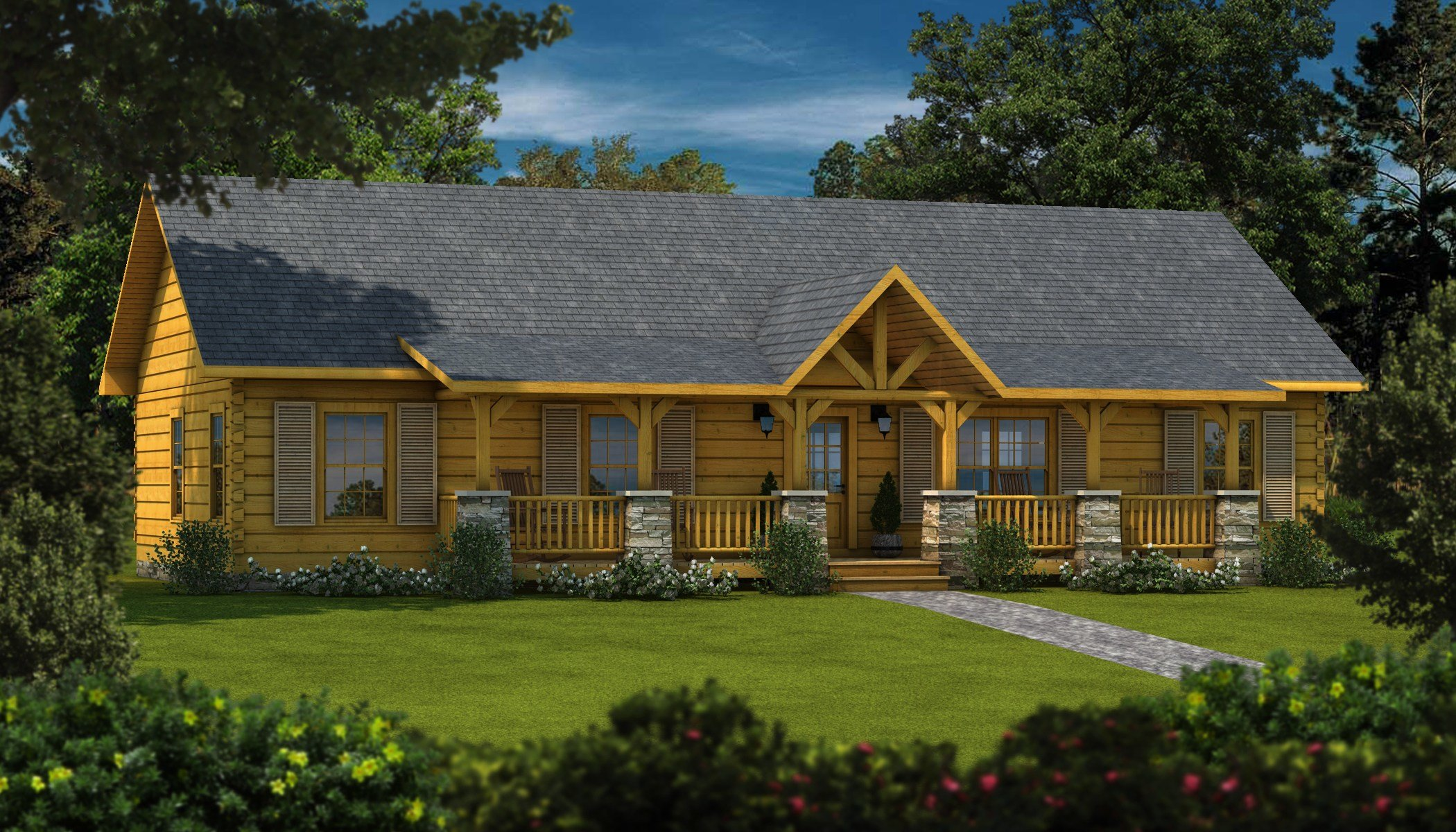 Best Laurens Ii Plans Information Log Cabin Kits With Pictures