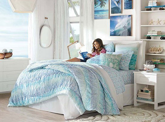 Best Kelly Slater Aegean Ruched Bedroom Pbteen With Pictures
