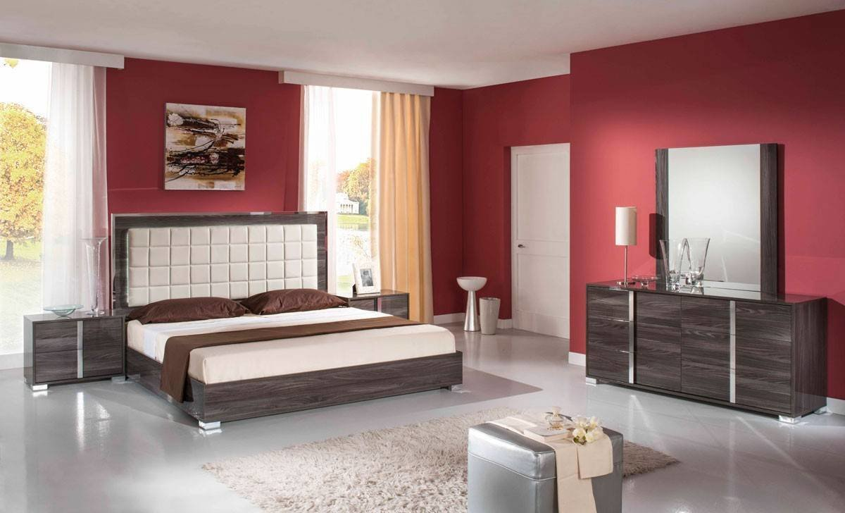 Best Made In Italy Leather Platform Bedroom Furniture Sets With With Pictures