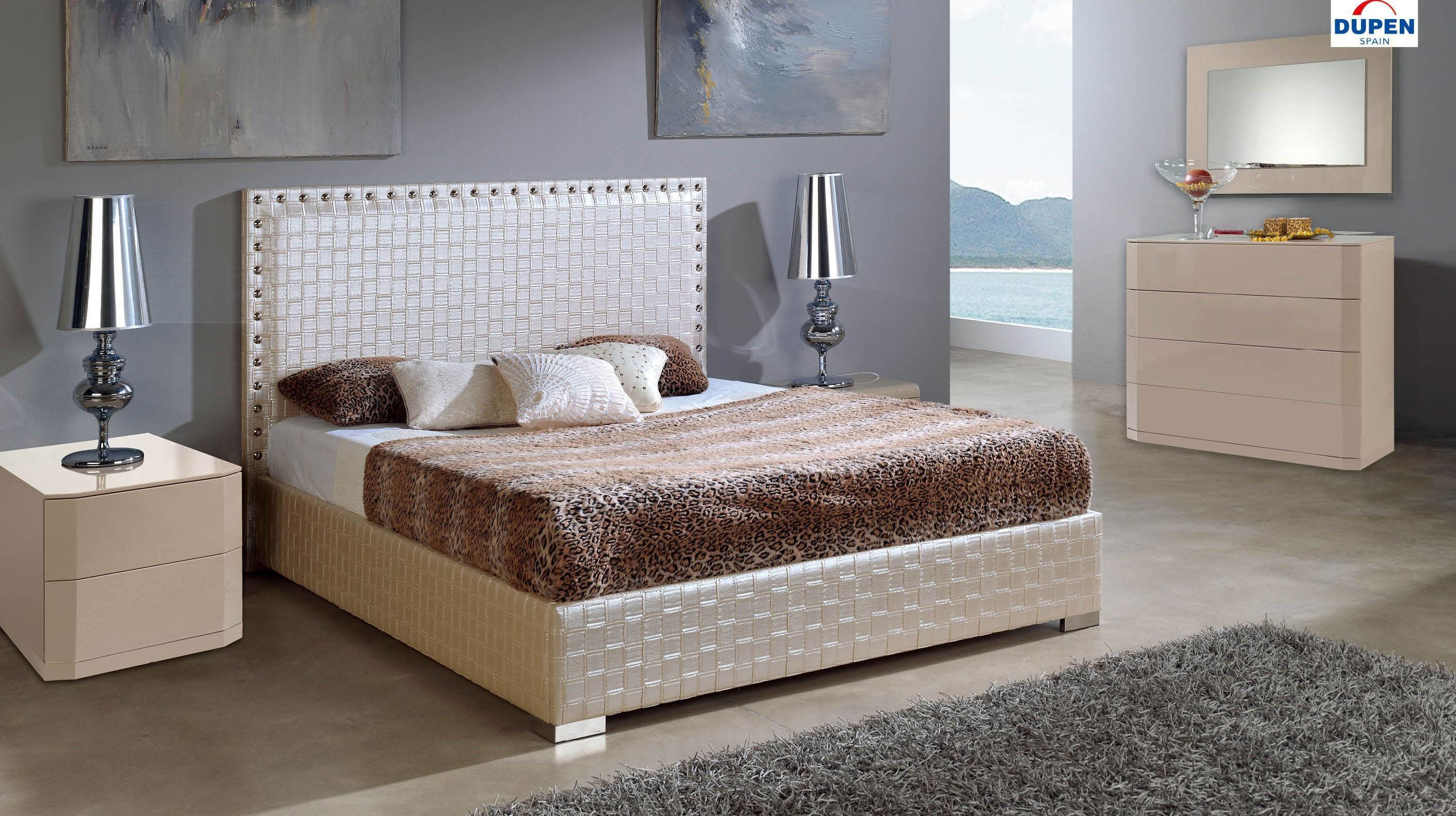 Best Made In Spain Leather Contemporary Platform Bedroom Sets With Extra Storage San Francisco With Pictures