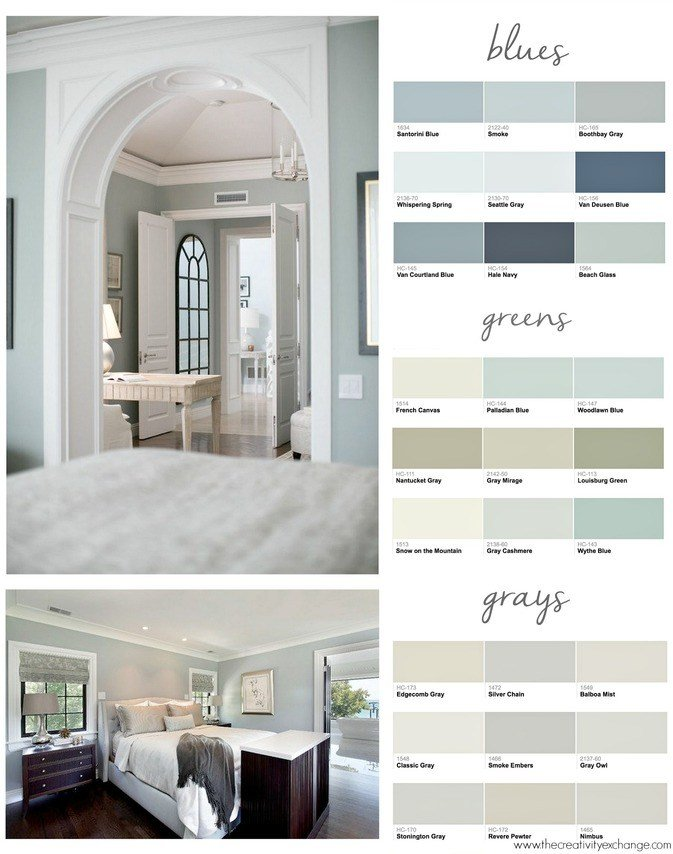 Best Popular Bedroom Paint Colors With Pictures