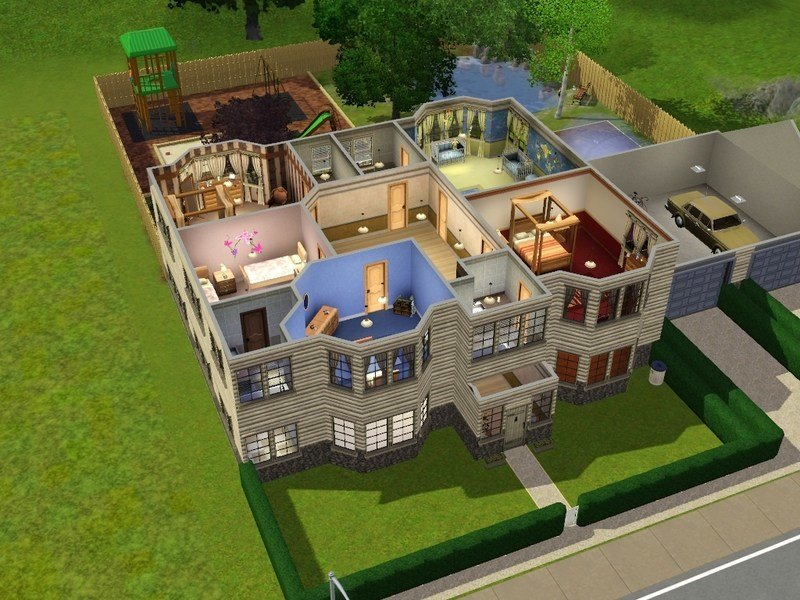 Best Sims 3 6 Bedroom House Online Information With Pictures