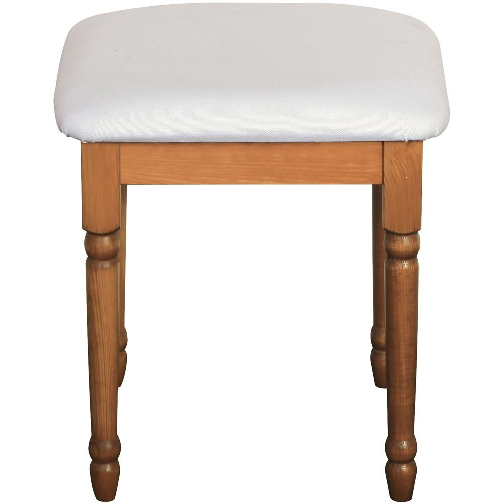 Best Dressing Table Stool Pine Steens Richmond With Pictures