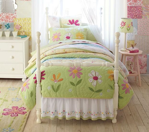 Best Girls Garden Theme Bedroom • The Budget Decorator With Pictures