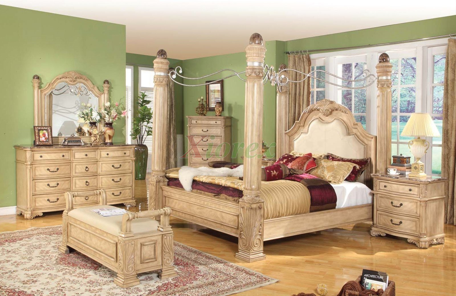 Best Canopy Bed Sets Bedroom Furniture Sets W Poster Canopy With Pictures