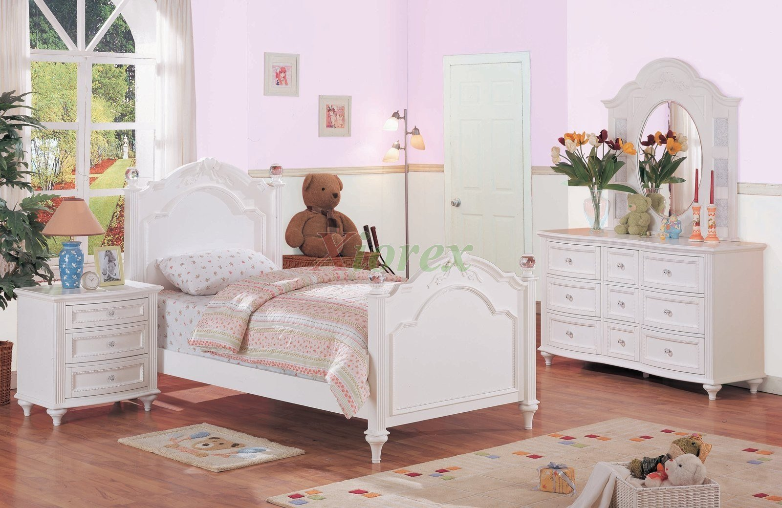 Best White Kids Poster Bedroom Furniture Set 175 Xiorex With Pictures