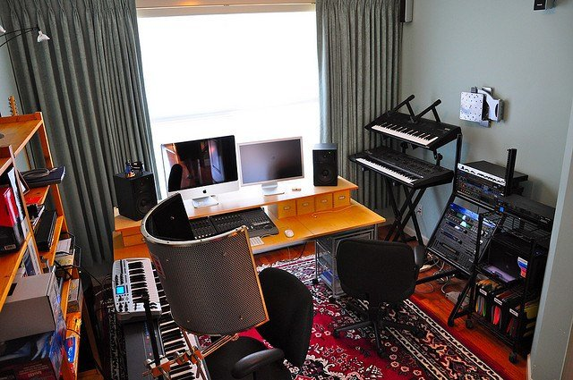 Best Building A Home Recording Studio For Under 1 000 Audio With Pictures