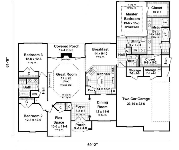 Best Alternate Basement Floor Plan 1St Level 3 Bedroom House With Pictures