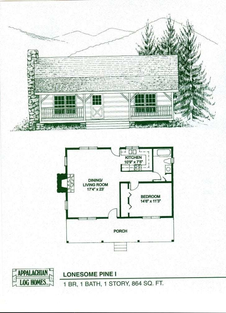 Best New 1 Bedroom Log Cabin Floor Plans New Home Plans Design With Pictures