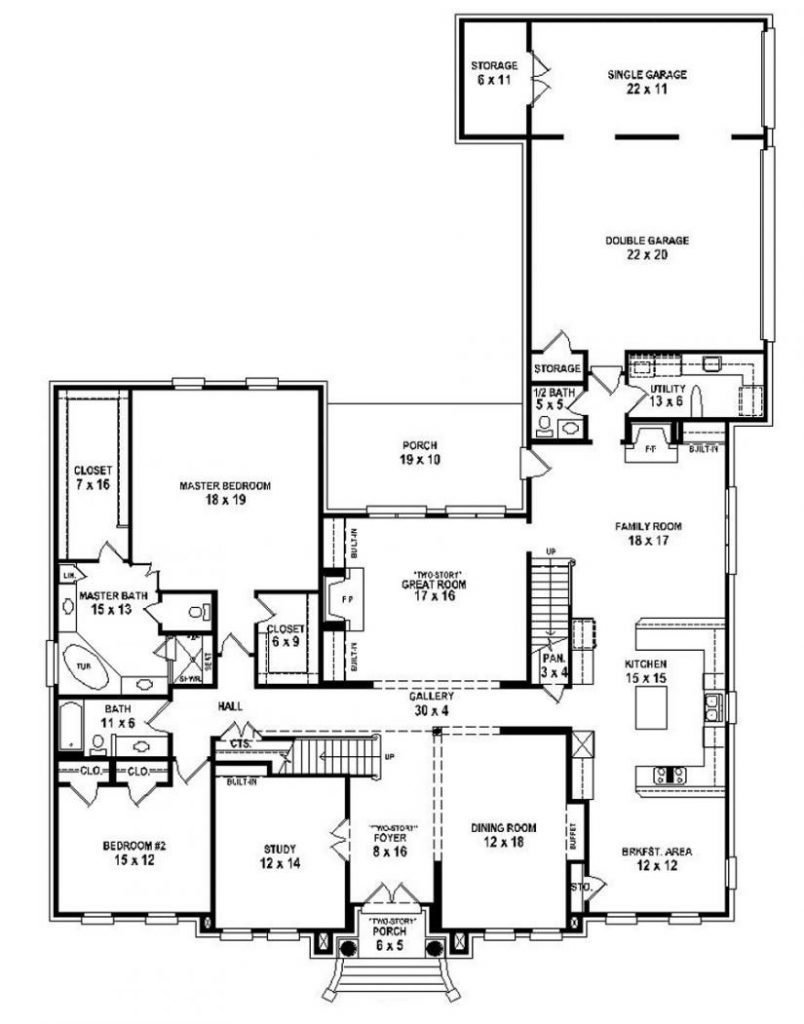 Best Cool Beautiful 5 Bedroom House Plans With Pictures New With Pictures