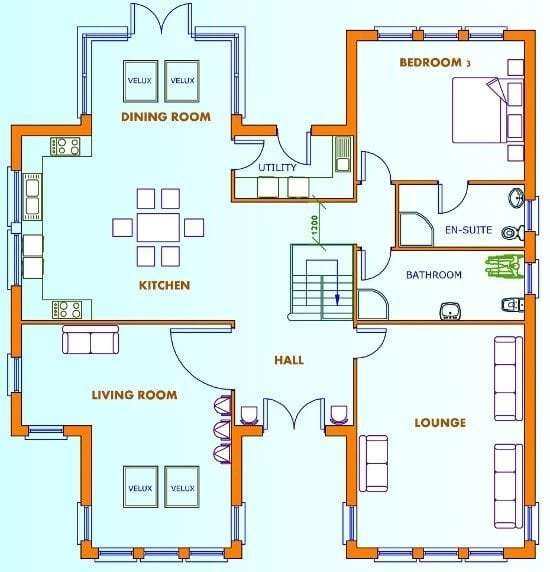 Best Awesome 5 Rooms House Plans 18 Pictures House Plans With Pictures