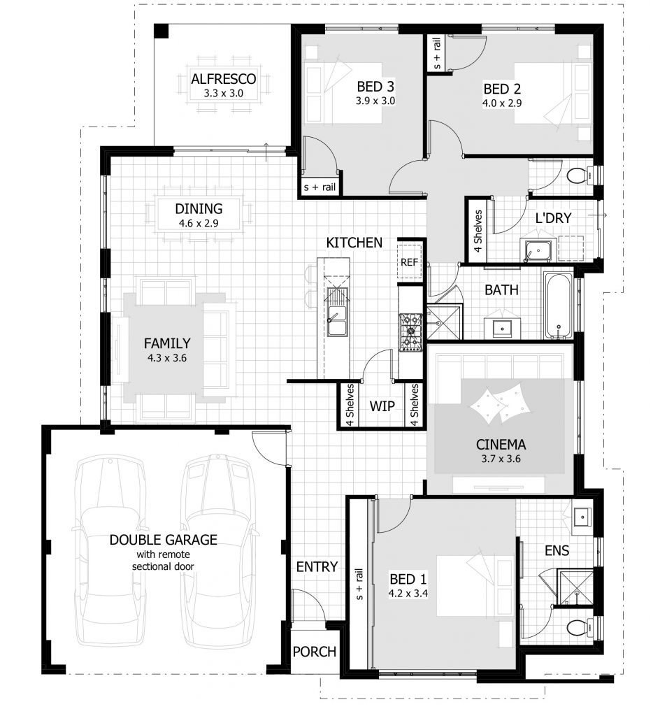 Best Unique 3 Bedroom House Plans Lovely 3 Bedroom House Plans With Pictures