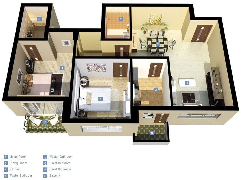 Best New 3 Bedroom House Plans In India New Home Plans Design With Pictures