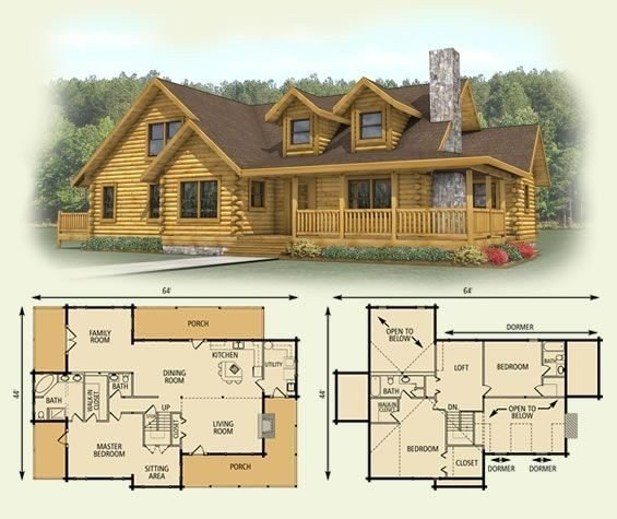 Best 4 Bedroom Log Cabin Floor Plans The Best Of Best 25 Log With Pictures