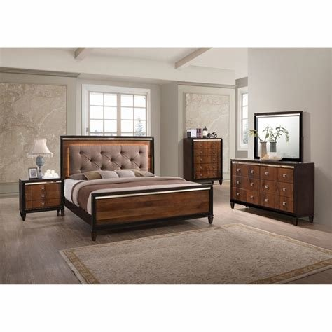 Best New Classic Home Bedroom Groups 7 Piece Clarice Queen With Pictures