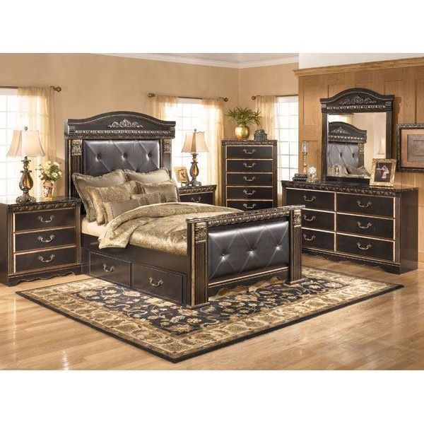 Best Coal Creek 5 Piece Bedroom Set B175 5Pcset Ashley With Pictures