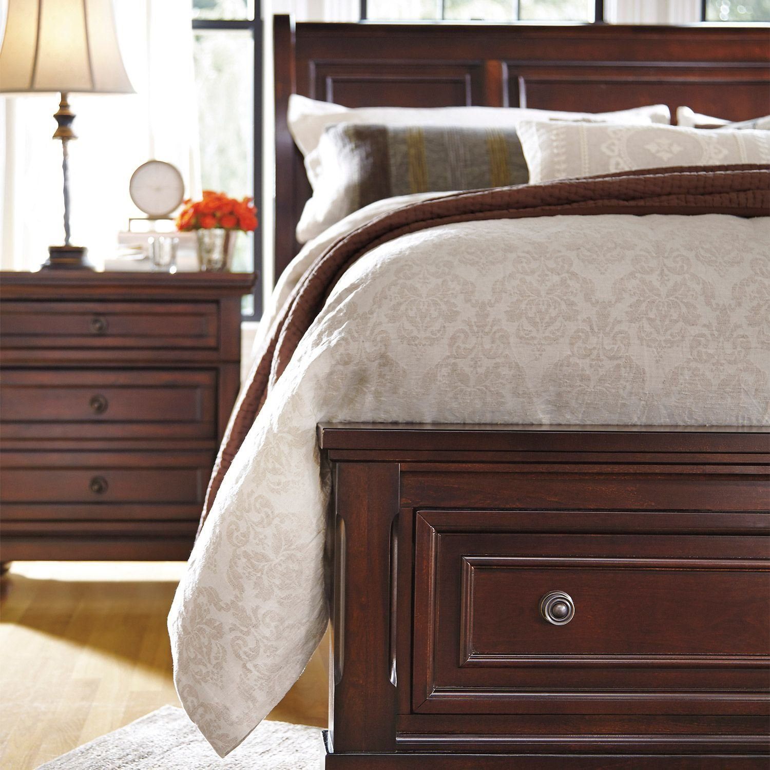 Best Porter Queen Storage Bed B697 Qbed Ashley Furniture B697 With Pictures