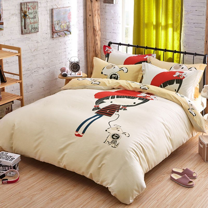 Best Little Cute Girl Bedding Set Queen Size Ebeddingsets With Pictures