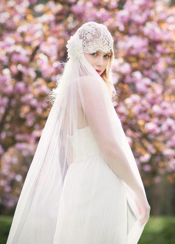 Free 39 Stunning Wedding Veil Headpiece Ideas For Your 2016 Wallpaper