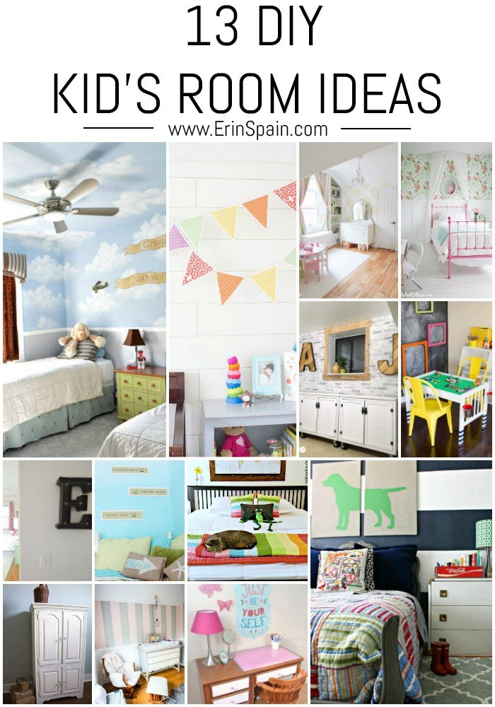 Best 13 Diy Kid S Room Ideas Erin Spain With Pictures