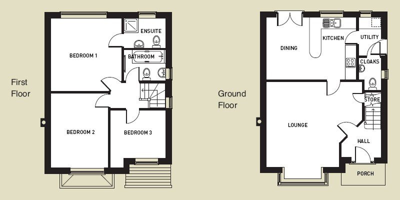 Best 4 Bedroom House Floor Plans Uk Home Mansion With Pictures