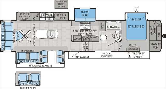 Best Fifth Wheel Camper Floor Plans Lovely Bedroom Ideas Fabulous 2 With Pictures