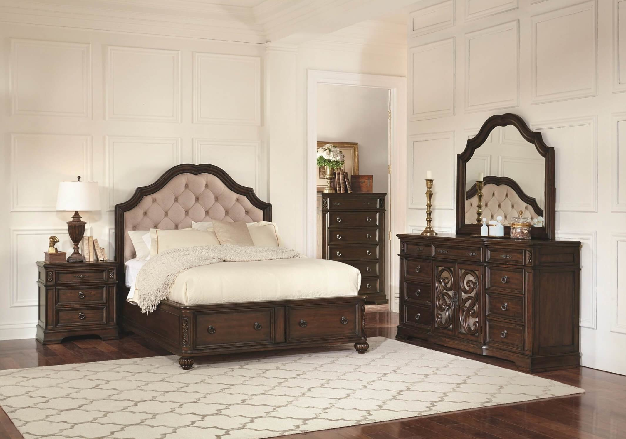 Best Ilana Antique Jave Storage Bed Coaster 205280Q Usa With Pictures