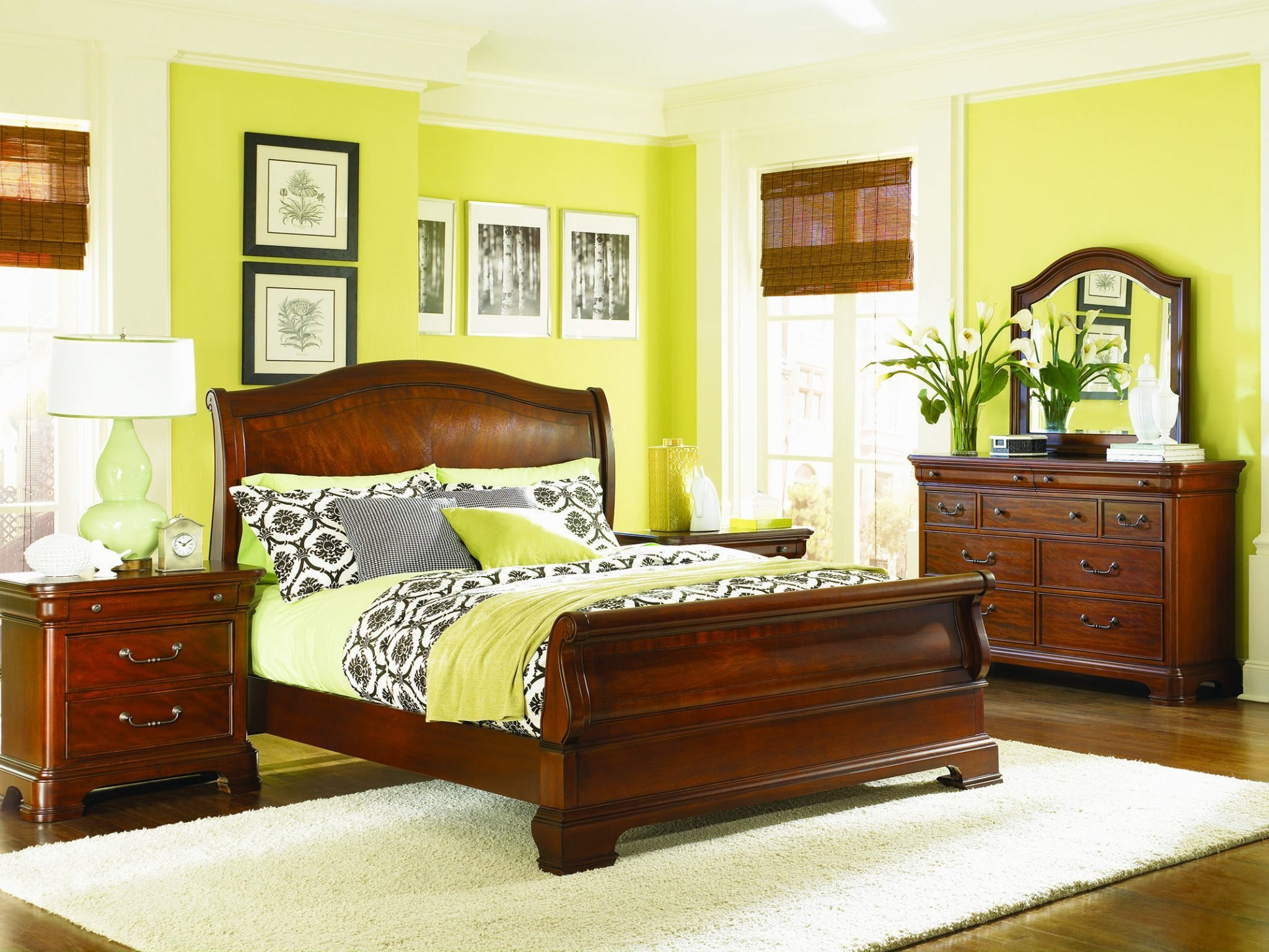 Best 4 Pc Legacy Classic Evolution Sleigh Bedroom Set With Pictures