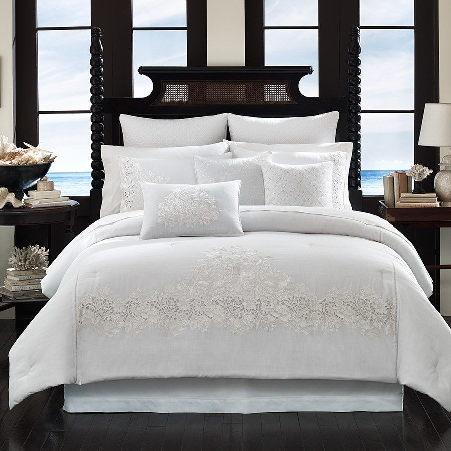 Best Tommy Bahama Heirloom Comforter Set From Beddingstyle Com With Pictures