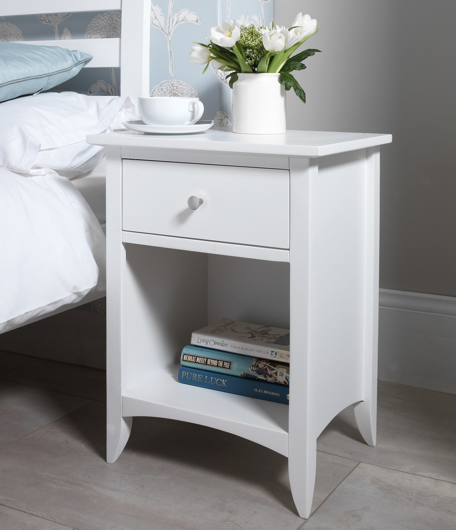 Best Edward Hopper White Furniture Bedside Table Chest Of With Pictures