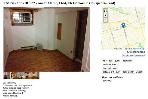 Best What Kind Of Apartment Does 1000 Get You In Toronto With Pictures Original 1024 x 768