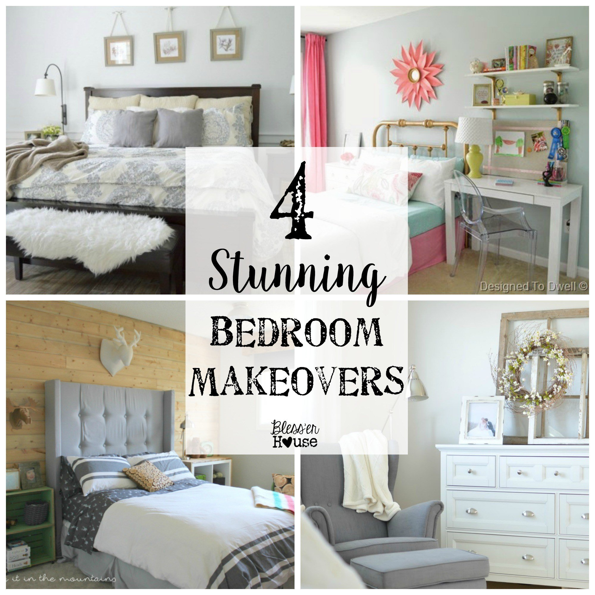 Best 4 Stunning Bedroom Makeovers With Pictures