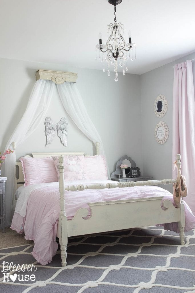 Best Ballerina Girl Bedroom Makeover Reveal With Pictures