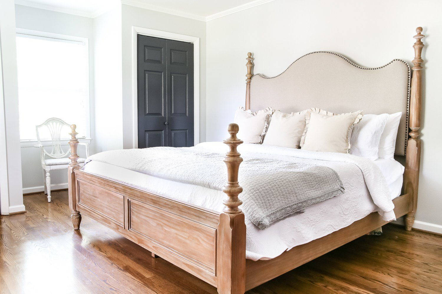 Best Master Bedroom Update Pickled Pine Furniture Bless Er House With Pictures