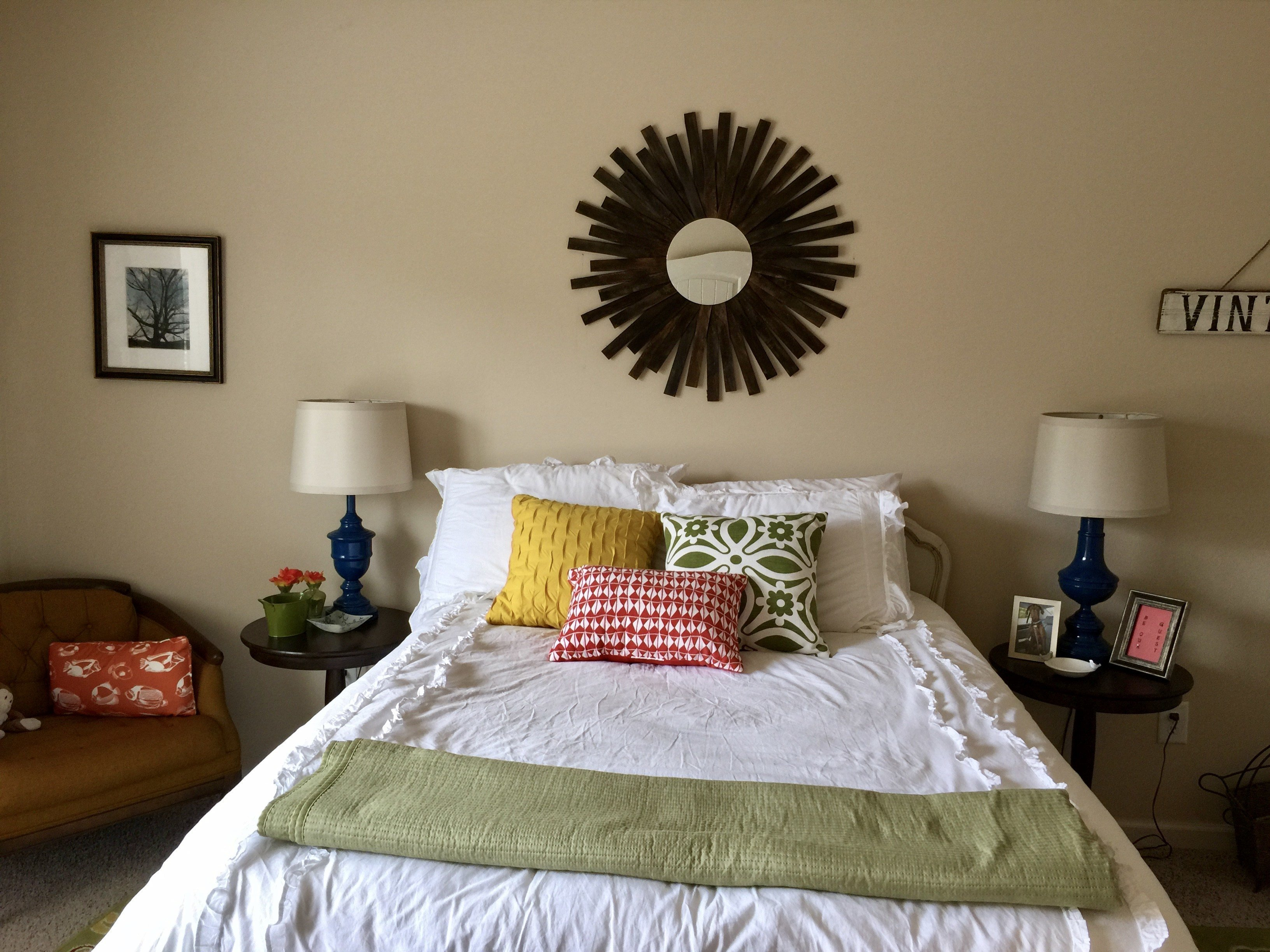 Best Decorating On A Budget Guest Bedroom Makeover Brown With Pictures
