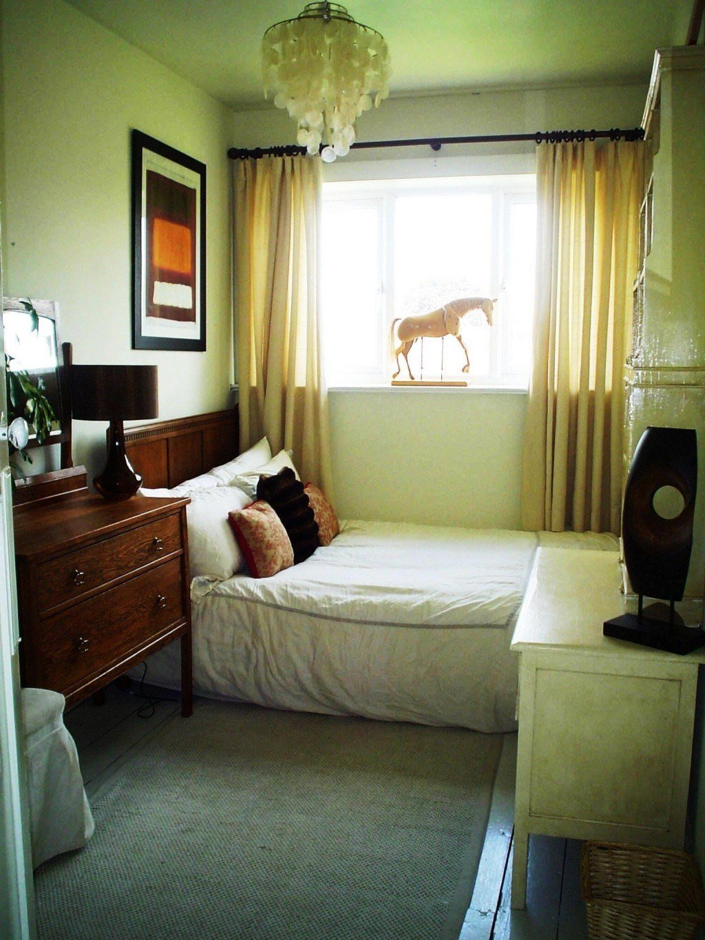 Best Paint Colors For Small Bedrooms With Cool Green Wall With Pictures