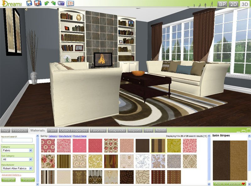 Best Free 3D Room Planner 3Dream Basic Account Details 3Dream Net With Pictures