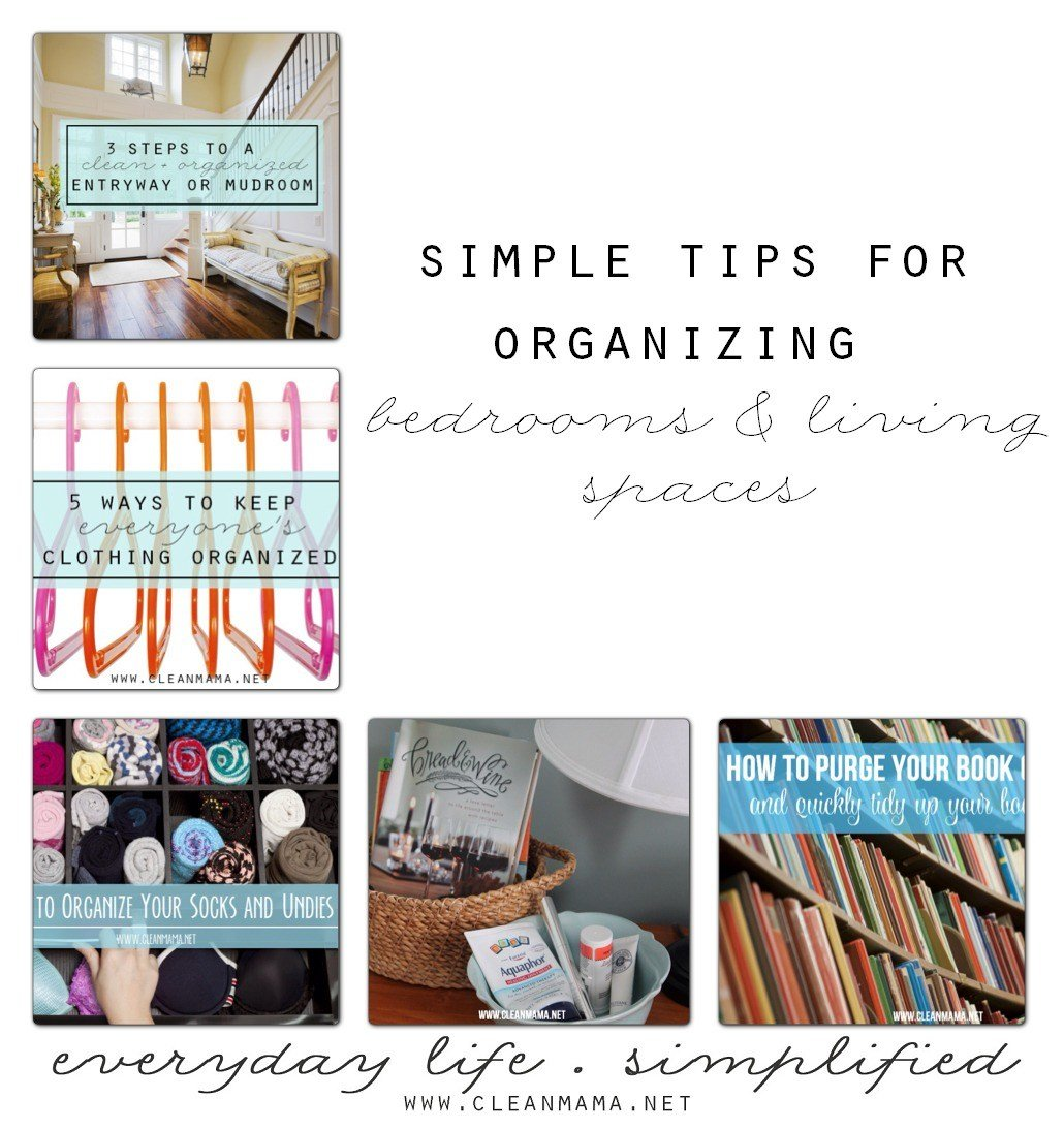 Best Simple Tips For Organized Bedrooms Living Spaces Clean With Pictures