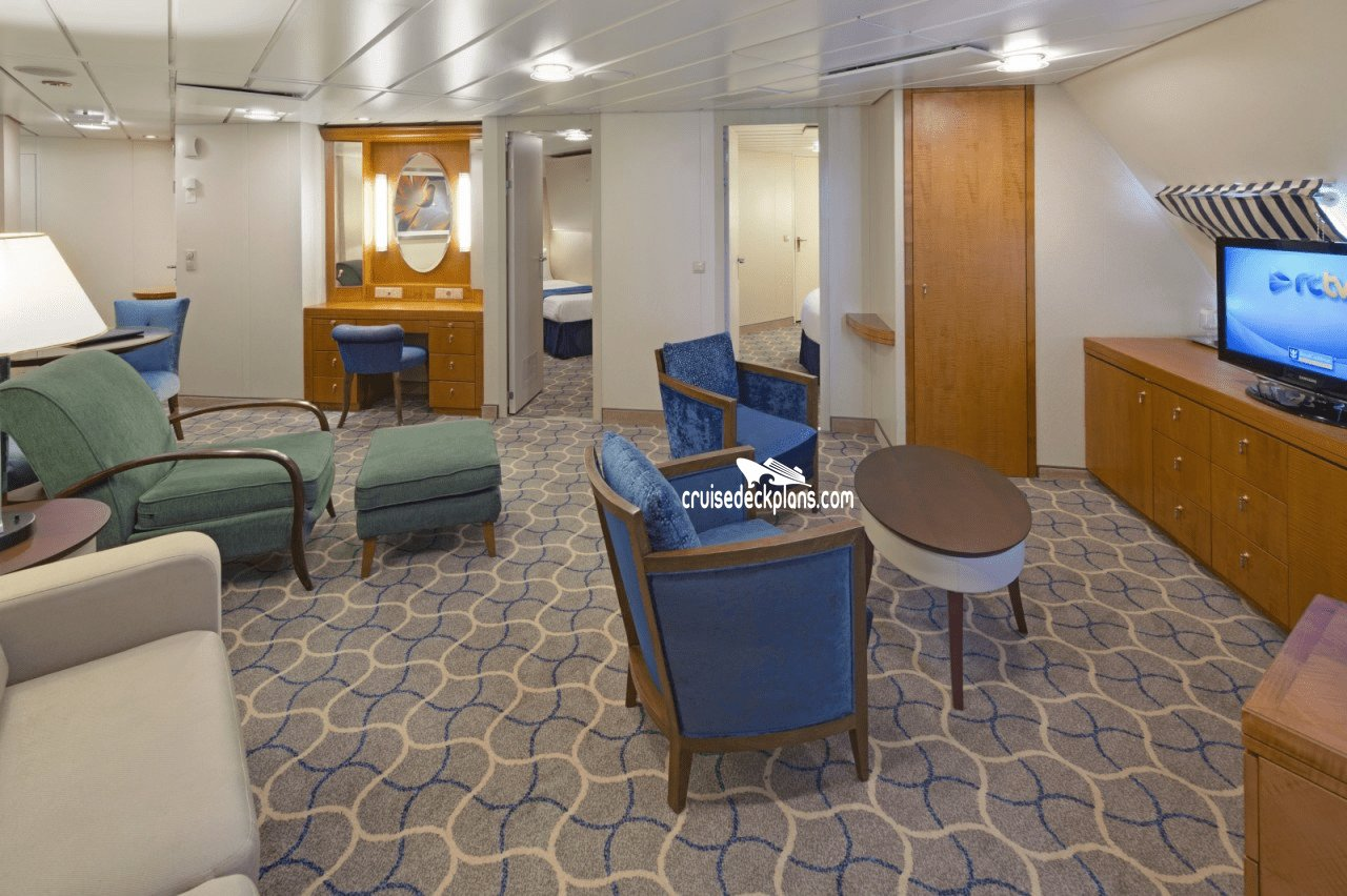 Best Royal Caribbean Serenade Of The Seas Two Bedroom Suite With Pictures