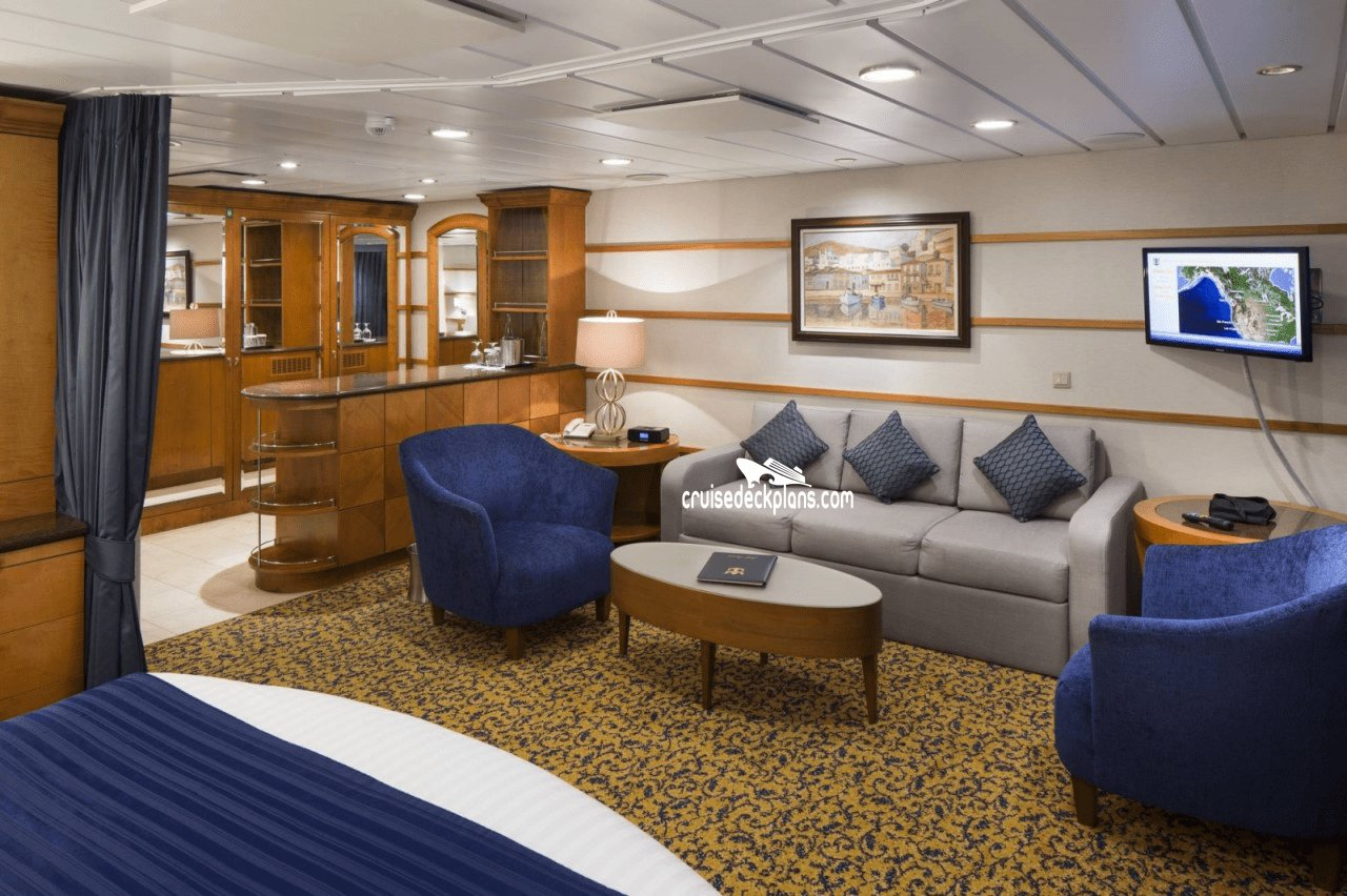 Best Radiance Of The Seas Grand Suite 1 Bedroom Stateroom With Pictures