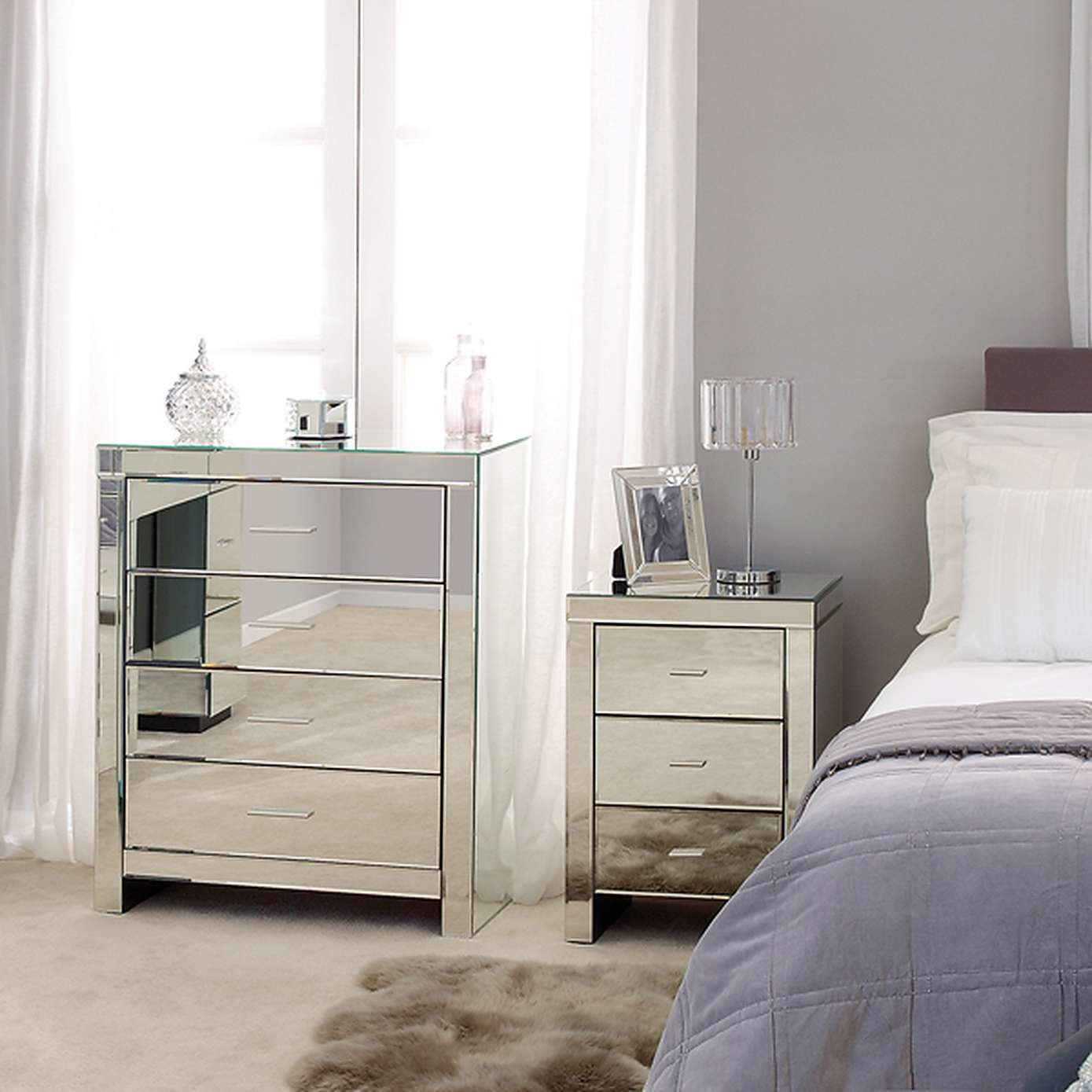 Best Mirrored Bedroom Furniture Sale — Gretabean Mirror With Pictures