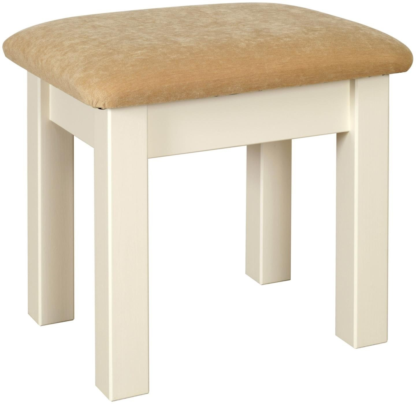 Best Solent Pine Stool Painted Ivory Dressing Room Tables With Pictures