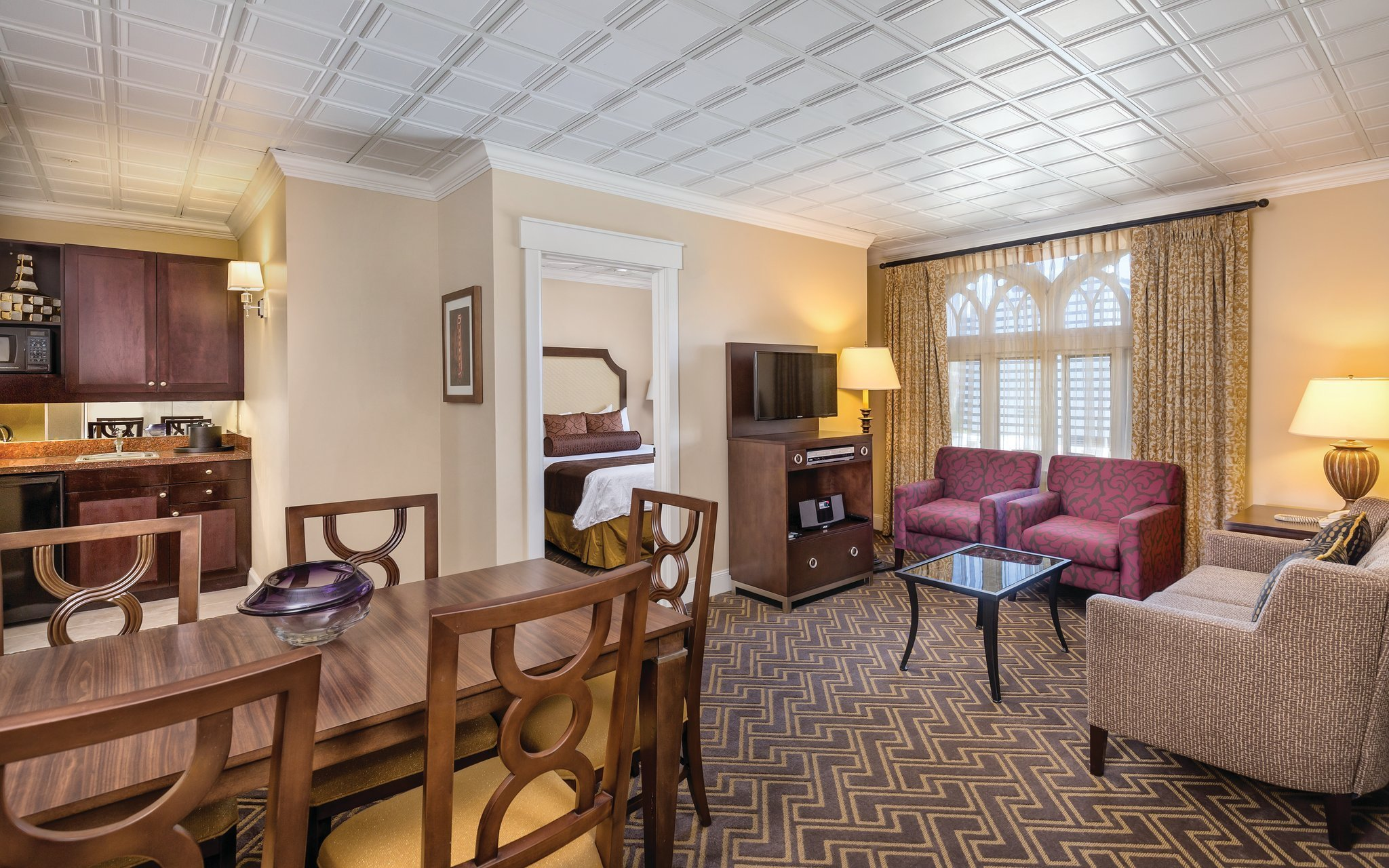 Best Two Bedroom P*Nth**S* Suite By Worldmark Seattle The Camlin In Seattle Wa With Pictures
